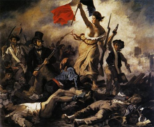 La liberté guidant le peuple - 1830 - Eugène DELACROIX
