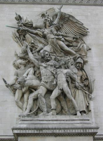 La Marseillaise - Arc de Triomphe - Paris - France